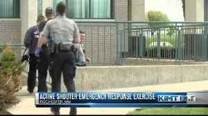 Multi-agency training simulates an active shooter [Video]