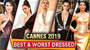 Cannes 2019 | Aishwarya, Deepika, Kangana, Sonam, Priyanka | Best & Worst Dressed [Video]