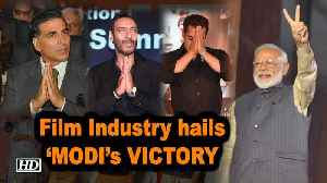 News video: Film Industry hails 'MODI's Smashing VICTORY | Lok Sabha Elections