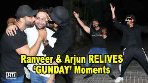Ranveer & Arjun RELIVES 'GUNDAY' Moments | India's Most Wanted screening [Video]
