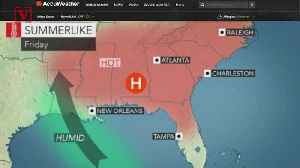 A Dangerous Heat Wave Being Called A 'Death Ridge' Is Coming To The Southeastern U.S. [Video]