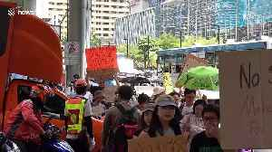 Climate change protesters in Bangkok call on government to cut pollution [Video]