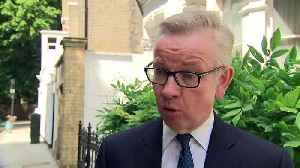 Michael Gove pays tribute to Theresa May [Video]