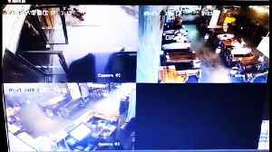 Mother and son escape injury after a car smashes into a restaurant in China [Video]