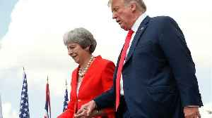 Trump Feels Bad For British Prime Minister Theresa May [Video]