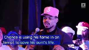 Chance the Rapper Seeks Kidney Donor for His Aunt [Video]