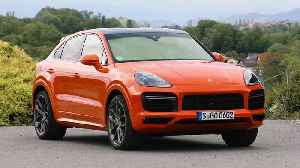 Porsche Cayenne Turbo Coupé Design in lava orange [Video]