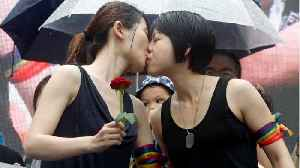 More Than 360 Couples Marry In Asia's First Same-Sex Marriages [Video]