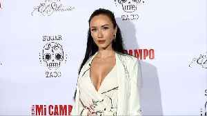 Nina Serebrova 'Sugar Taco LA' Grand Opening Red Carpet [Video]