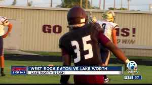 Lake Worth vs West Boca Raton football 5/23 [Video]