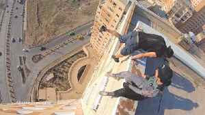 Daredevil Risks His Life With Dangerous Stunts In Honour Of Missing Father [Video]