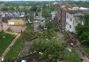 Drone Video Shows Homes and Trees Damaged by Missouri Tornado [Video]