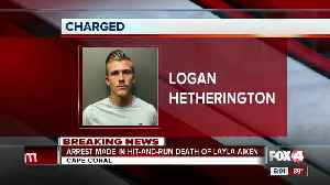 Police arrest Logan Hetherington for hit and run death of Cape Coral 8-year-old [Video]