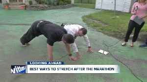 Two important stretches after the Buffalo Marathon [Video]