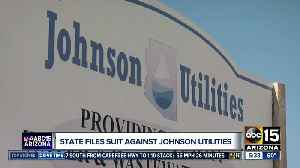State files suit against Johnson Utilities [Video]