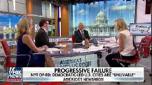 News video: New York Times op-ed calls out 'unlivable' conditions in Democratic-led cities