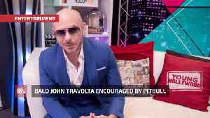 John Travolta Trades Combed Hair For A Shaved Head [Video]