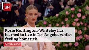 Rosie Huntington-Whiteley Is Coping With Her LA Life [Video]