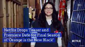 Orange is the New Black Returns To Netflix One More Time [Video]