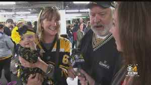 Bruins Fans Treated To Pre-Stanley Cup Scrimmage [Video]