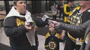 Bruins Fans Pack TD Garden For Stanley Cup Scrimmage [Video]