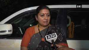 'Dedicate Amethi win to party workers who lost their lives': Smriti Irani