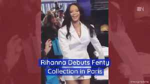 Rihanna Heads To Fashion Heaven For Fenty Collection [Video]