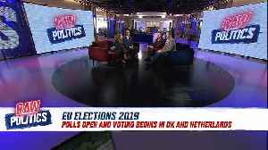 Raw Politics in full: EU elections kick off and May's gambit backfires [Video]