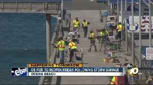 OB pier to reopen for Memorial Day weekend [Video]