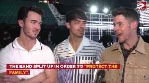 The Jonas Brothers wants to 'protect the family' with their 2013 split [Video]