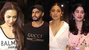 Malaika Arora cheers for Arjun Kapoor, watches India's Most Wanted again [Video]