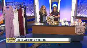 Check out the Hottest Wedding Trends [Video]