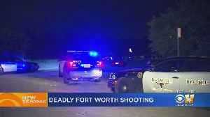 Man Fatally Shot Outside Home In Southeast Fort Worth [Video]