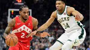 News video: Kawhi Leonard Leads Raptors Over Bucks In Game 5