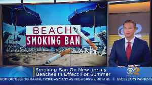New Jersey Beaches Outlaw Smoking, Vaping [Video]
