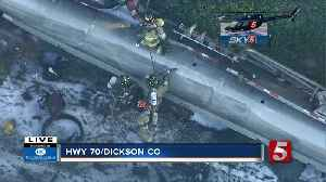 Highway 70 not expected to reopen until noon after tanker crash [Video]