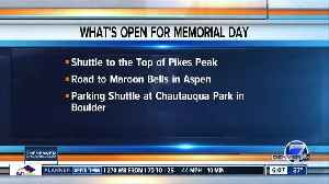 Late snow brings Memorial Day delayed openings at popular destinations [Video]
