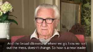 Michael Heseltine says May exit won't change the dilemma facing British politics [Video]
