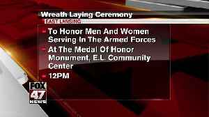 Wreath laying ceremony happening Friday in East Lansing in honor of Memorial Day [Video]