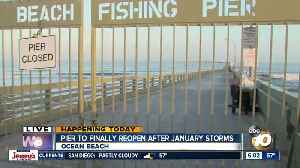 Ocean Beach pier to re-open Memorial Day weekend from winter storm damage [Video]