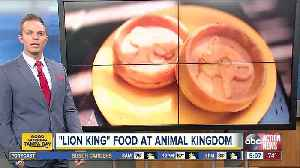 Disney's Animal Kingdom celebrates 'The Lion King' with special summer food items [Video]