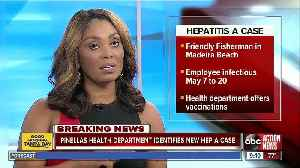 Food service worker at John's Pass restaurant tests positive for hep A [Video]