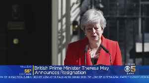 News video: British Prime Minister Theresa May Announces Resignation