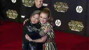 Billie Lourd struggled to shoot emotional Star Wars scenes with her late mum [Video]