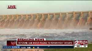 Keystone Dam releasing most water in last 30 years [Video]