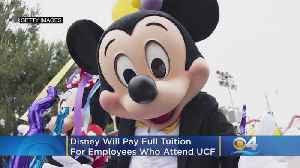 Disney Will Pay Full Tuition For Workers Who Enroll At Univ. Of Central Florida [Video]