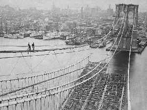 This Day in History: The Brooklyn Bridge Opens [Video]