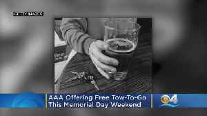 AAA Offers Free Tow-To-Go This Memorial Day Weekend [Video]