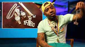 YFN Lucci Shows Off His Insane Jewelry Collection [Video]