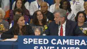 Web Extra: NYC Installing 750 Speed Cameras In School Zones [Video]